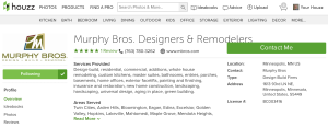 Murphy Bros. Houzz Profile