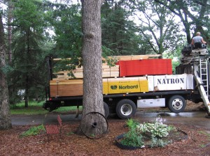 Lumber has arrived!